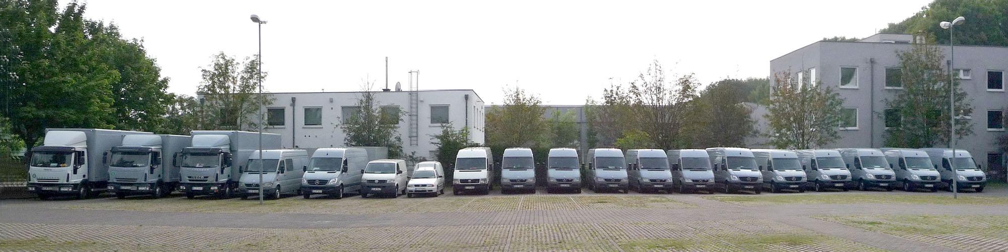 DTL Köln Fuhrpark